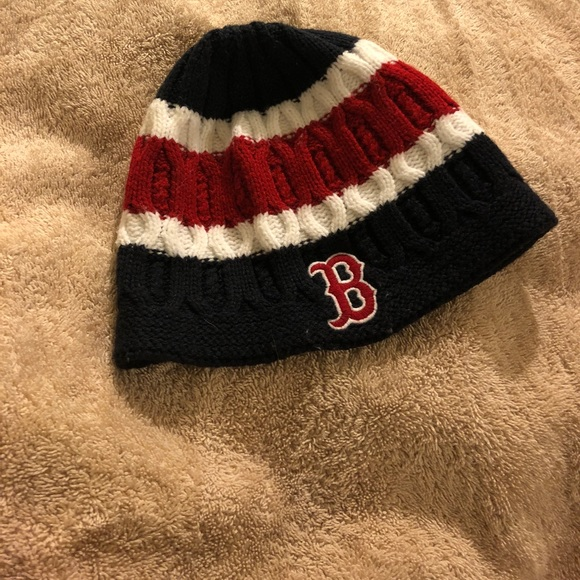 7bbd9d2aa2c Accessories - Boston Red Sox- beanie hat